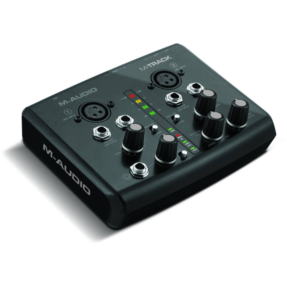 m audio m track usb audio midi interface. Black Bedroom Furniture Sets. Home Design Ideas