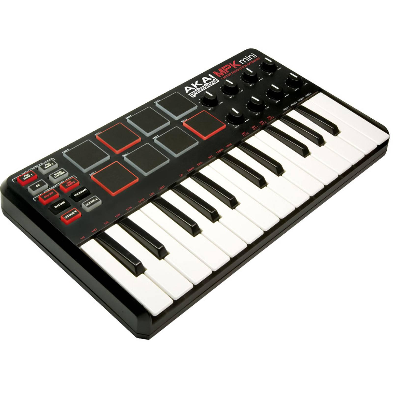 akai mpk mini mk1 laptop production keyboard ebay. Black Bedroom Furniture Sets. Home Design Ideas