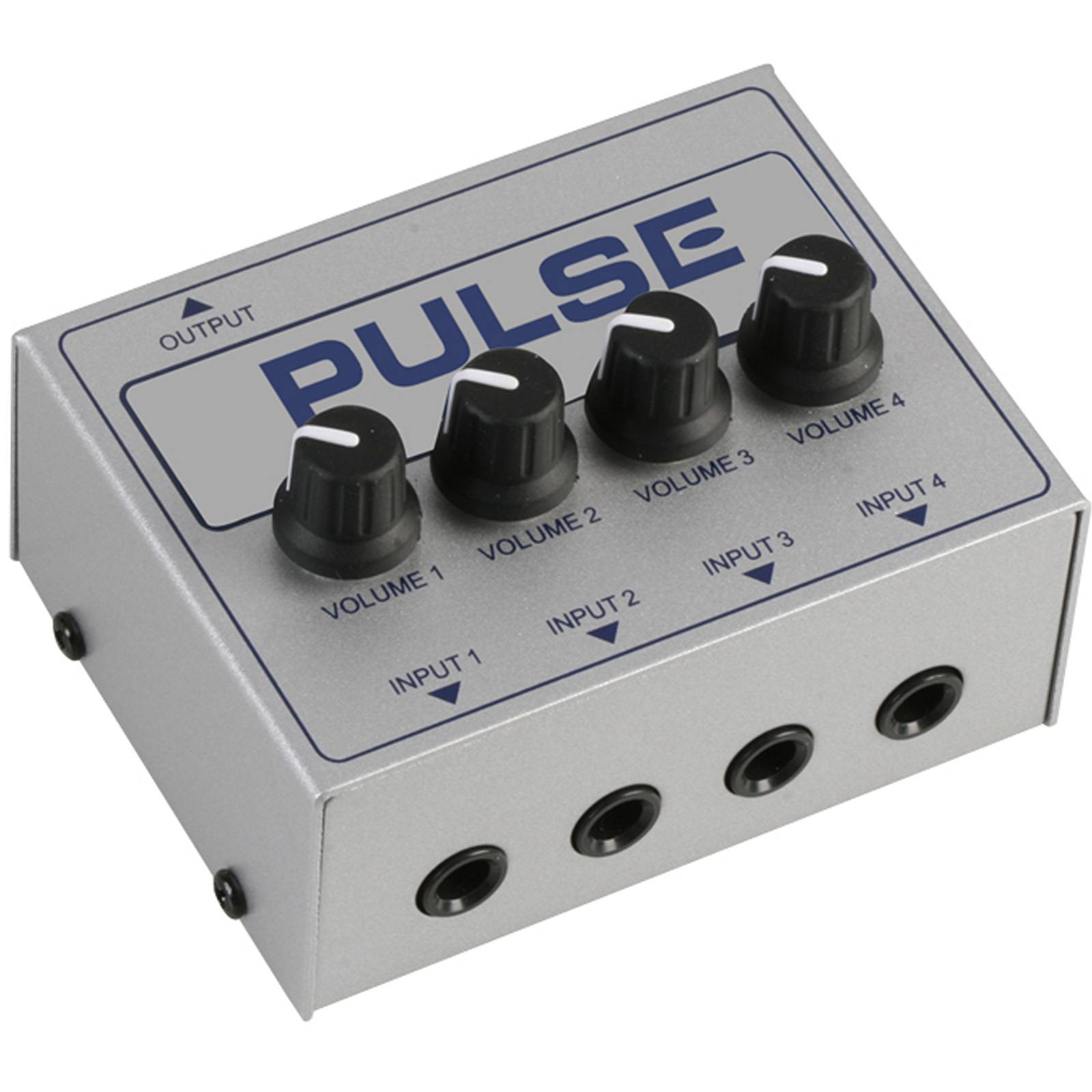 pulse 4ch passive line mini mixer mixers from inta audio uk. Black Bedroom Furniture Sets. Home Design Ideas