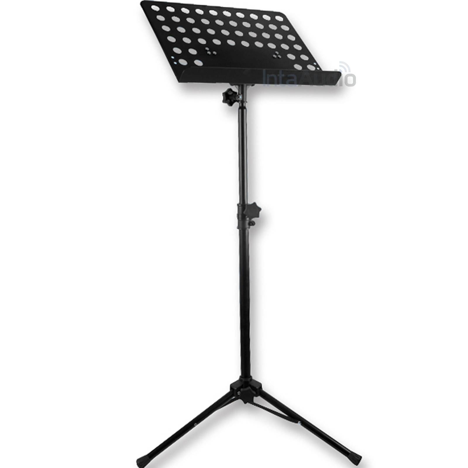 pulse music sheet stand black sheet music stands from inta audio uk. Black Bedroom Furniture Sets. Home Design Ideas