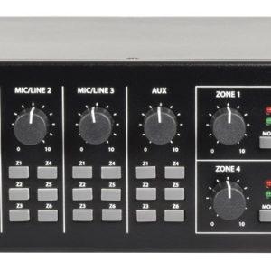 Adastra RM406 100v 6 Zone Amp