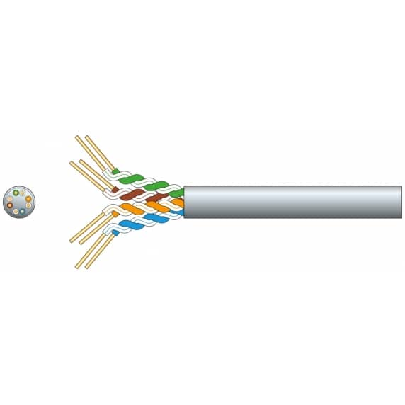 100m Ethernet/Network CAT5-CCA Cable Roll