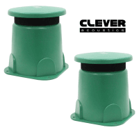 2 x Clever Acoustics GDS 20 Outdoor Garden Speaker, 100V/8 Ohms