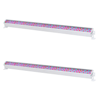 2 x Equinox RGB Power Batten MKII (White)