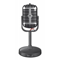 Trust 50s Style PC Microphone with 3.5mm Mini Jack  - B Stock