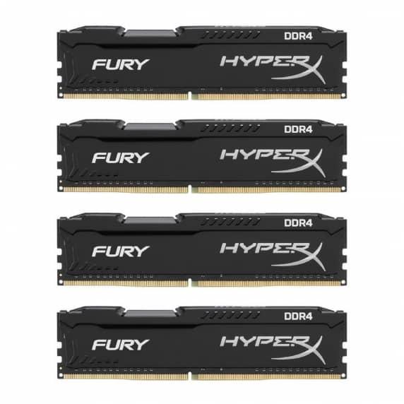 64Gb DDR4 2133Mhz (4x16Gb)