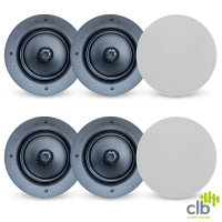 6x CLB Audio CS40 Premium Ceiling Speaker | 40W RMS, 8 Ohm