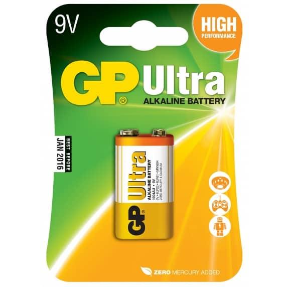 9V Alkaline Battery