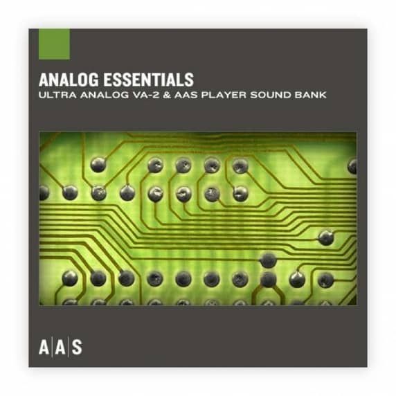 AAS - Analog Essentials Sound bank for Ultra Analog VA-2 (Serial Download)