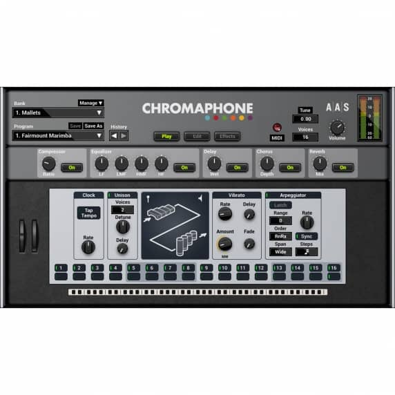 AAS Chromaphone 2 Acoustic Object Synthesizer