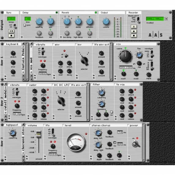 AAS Tassman 4 Sound Synthesis Studio - Download Copy