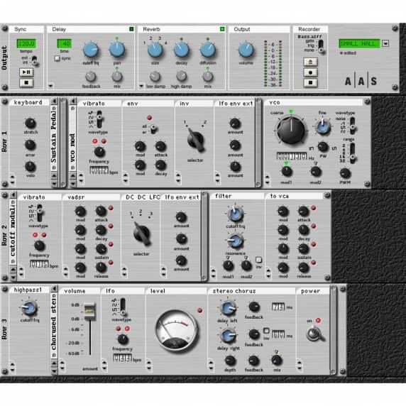 AAS Tassman 4 Sound Synthesis Studio (Serial Download)