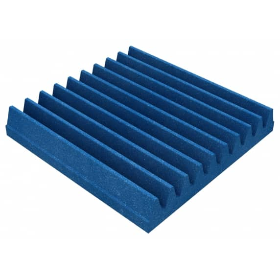 Acoustic Foam Wedges Pack of 16 (Electric Blue)