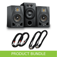 Adam Audio 2.1 System - A5X Monitors, Sub7 & Cables