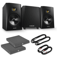 Adam Audio 2.1 System - T8V Monitors & T10S Sub with Pads & Cable