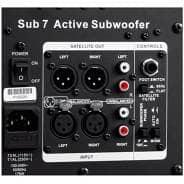 """Adam Audio Sub7 140W Active Subwoofer (7"""")"""