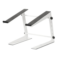 Adam Hall Adjustable Laptop Stand White - B Stock
