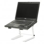 Adam Hall Adjustable Laptop Stand White (SLT001EW)