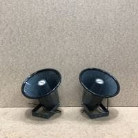 Adastra 15W 8ohm Weatherproof Horn Speaker 2 pack (B-Stock)