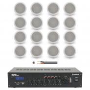 Adastra 16 Speaker Restaurant Background Music Sound System