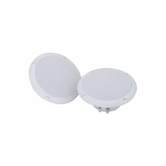 """Adastra 5"""" 35W 8ohm Water Resistant Ceiling Speakers - Pair"""