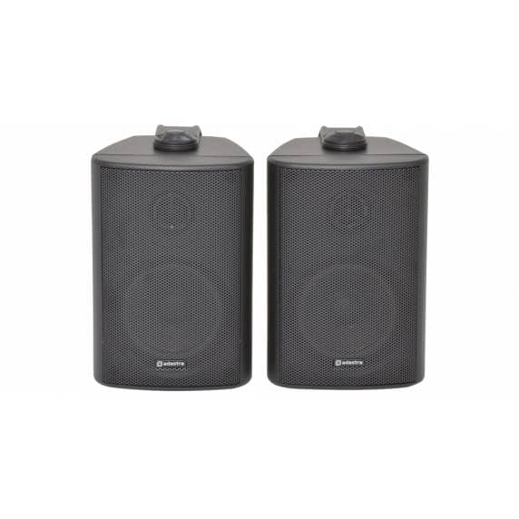"Adastra BC3-B 3"" Black Stereo Wall Speakers 60W/8 Ohm"