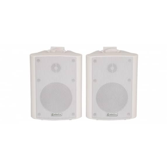 "Adastra BC4-W 4"" White Background Wall Speaker - 8ohm"