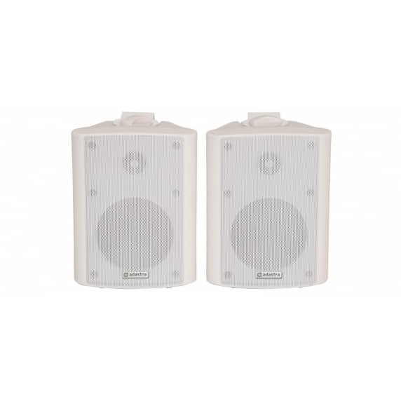 "Adastra BC4-W 4"" White Background Wall Speakers - 8ohm"