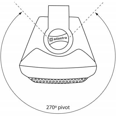 Adastra Bc4v B 4 35w 100v Line Black Wall Speaker P6082