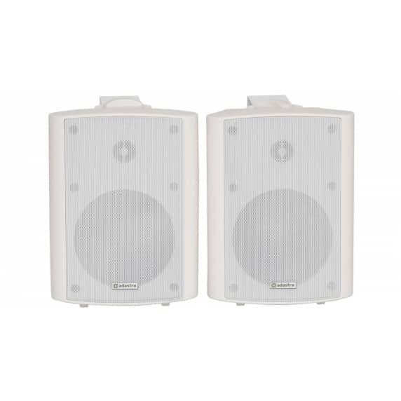 "Adastra BC5A-W 5.25"" 2x30W Active Wall Speakers - Pair"