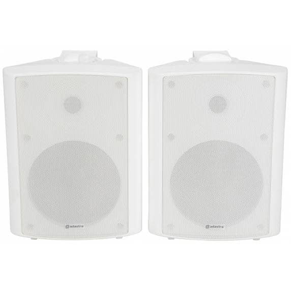 "Adastra BC6A-W 6.5"" Active Stereo Wall Speakers - 2 x 50W"