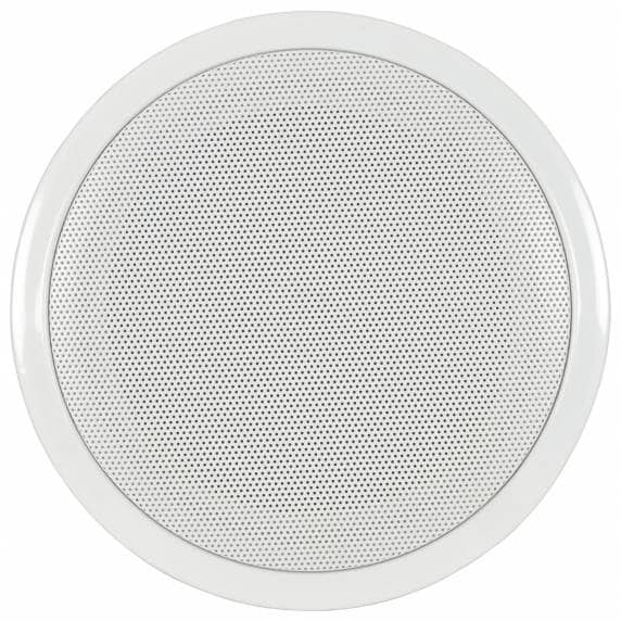 "Adastra CF-6D 6.5"" 100V Ceiling Speaker with Fire Dome"