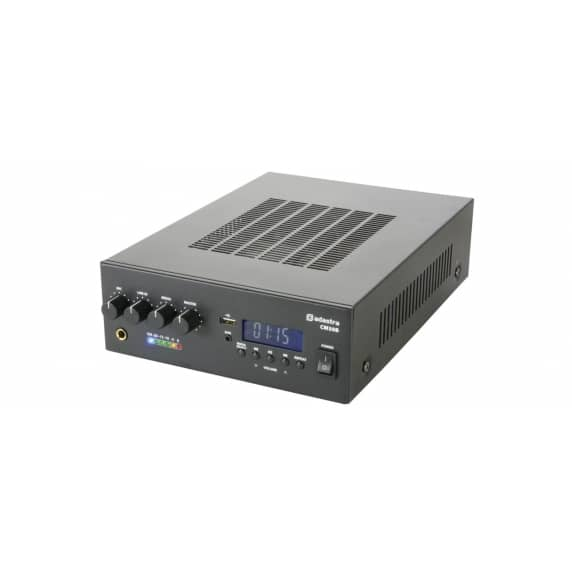 Adastra CM30B Compact Bluetooth Amplifier, 30W RMS 100V Line