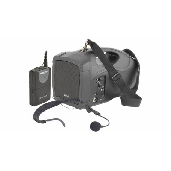 Adastra H25 Handheld PA System with Neckband Mic