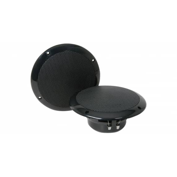 Adastra OD6-B8 40W Water Resistant Black Ceiling Speakers (Pair)