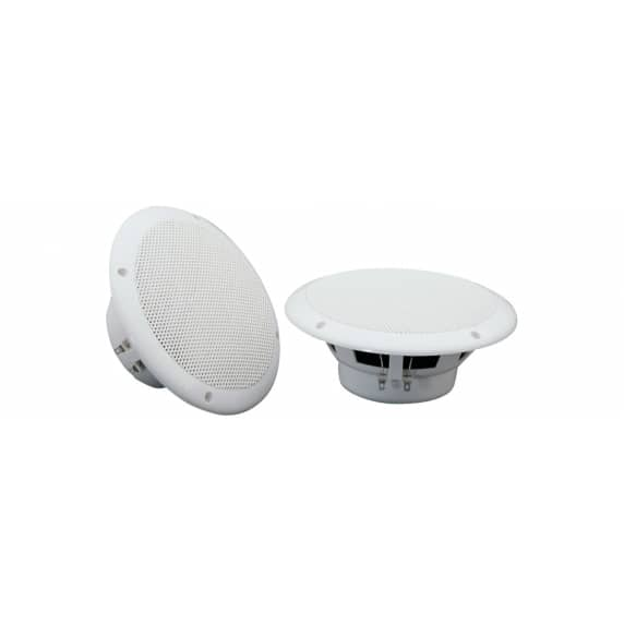 "Adastra OD6-W4 6.5"" 40W 4ohm Water Resistant Ceiling Speakers - Pair"
