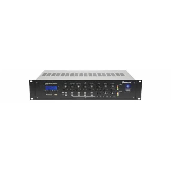 Adastra RM1202 2-Zone 100V Line Mixer Amplifier With Bluetooth