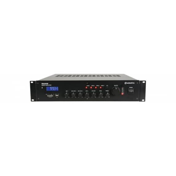 Adastra RM360B 4-Zone 360W Mixer Amplifier with Bluetooth