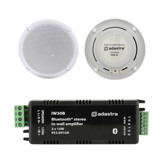 Adastra Wireless Ceiling Speaker Amplifier Kit