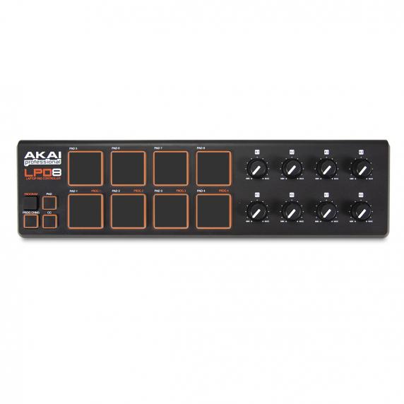 AKAI LPD8 Laptop USB Midi Controller