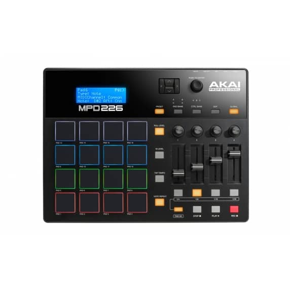 AKAI MPD226 MIDI/USB Pad Controller with Ableton Live Lite Software