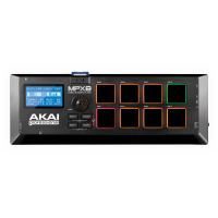Akai MPX8 Mobile SD Sample Pad Controller (B STOCK)