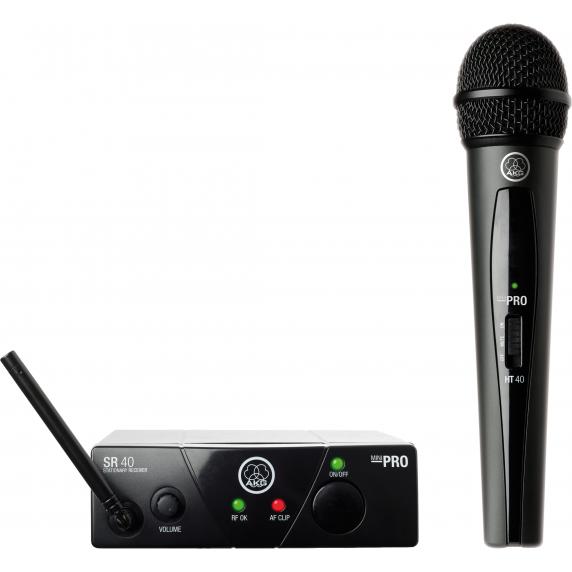 AKG WMS40 Mini Vocal Wireless Mic Set - ISM2/864.375Mhz