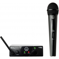 AKG WMS40 Mini Vocal Wireless Mic Set - ISM2/864.375Mhz