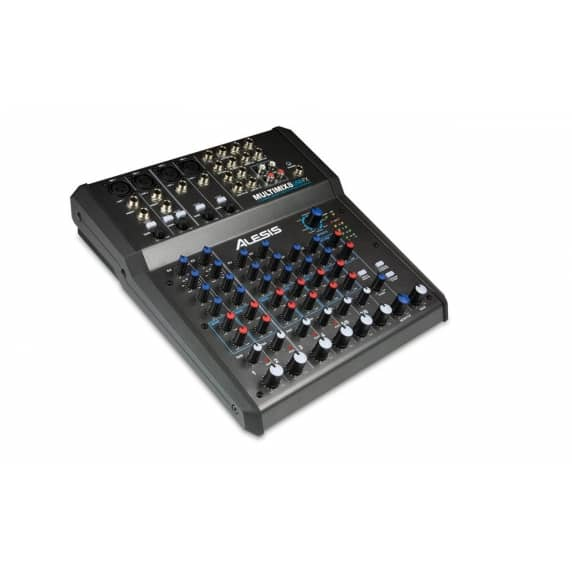 Alesis MultiMix8 USB 8 Channel FX Mixer