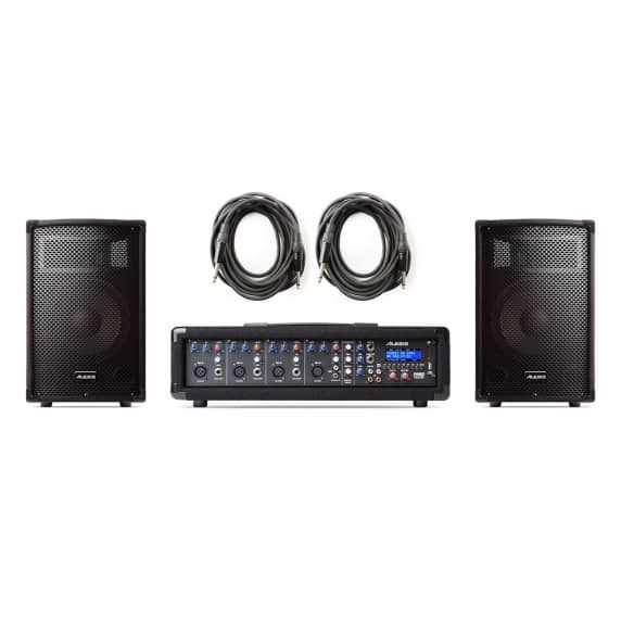 Alesis PA System in a Box - 280w 4-Channel PA System