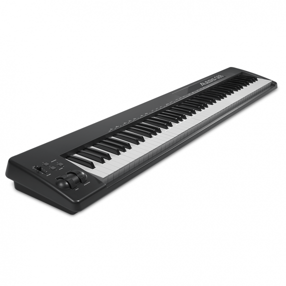 alesis q88 88 key semi weighted usb midi keyboard controller. Black Bedroom Furniture Sets. Home Design Ideas