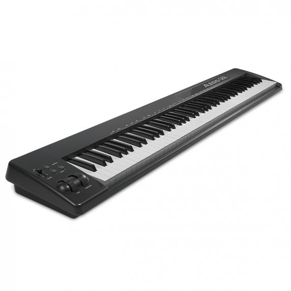 alesis q88 88 key semi weighted usb midi keyboard controller. Black Bedroom Furniture Sets. Home Design Ideas