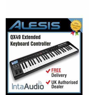Alesis qx49 49 key usb midi keyboard controller alesis from inta audio uk - Ableton live lite alesis edition ...