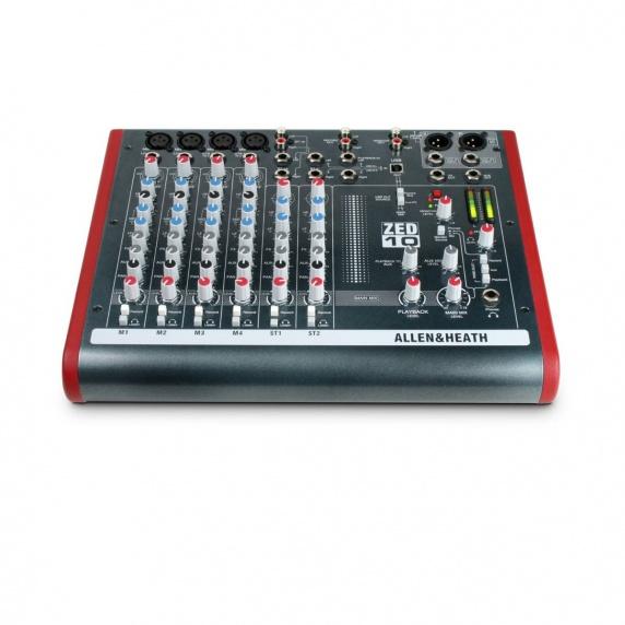 Allen & Heath ZED-10 USB Compact Stereo Mixer